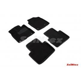 3D коврики для Acura RDX 2014-н.в. цвет Черный