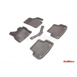 3D коврики для Audi A3 2012-н.в. цвет Серый