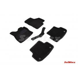 3D коврики для Audi A3 2012-н.в. цвет Черный