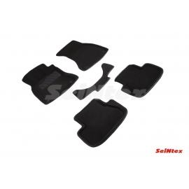 3D коврики для Audi A4 (B8) 2007-2015 цвет Черный