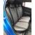 Авточехлы Экокожа Черный + Серый для Hyundai Solaris II Sd / Kia Rio IV Sd/Hb (X-Line) (40/60) с 17г.